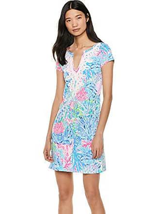 7e9466dfd9e09c Lilly Pulitzer Womens Brewster Dress, Multi Sink Orange Swim, XXS