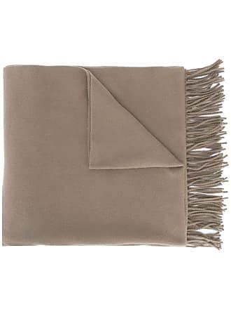 Acne Studios Canada New fringed scarf - Neutro