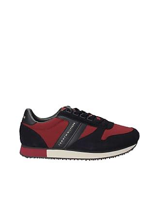 c40ce7ec6d3c Tommy Hilfiger FM0FM01921 New Iconic Runner Sneakers Men BLU RED 43