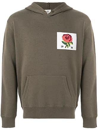 Kent & Curwen flower patch hoodie - Verde