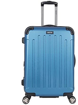 Kenneth Cole Reaction Kenneth Cole Reaction Renegade 24-Inch Lightweight Hardside 8-Wheel Spinner Expandable Checked Suitcase, Vivid Blue
