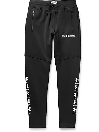 e34e9f7f Palm Angels + Under Armour Logo-print Tech-jersey Sweatpants - Black