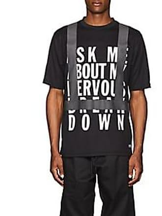 U.P.W.W. Mens Crisis Cotton T-Shirt - Black Size XS