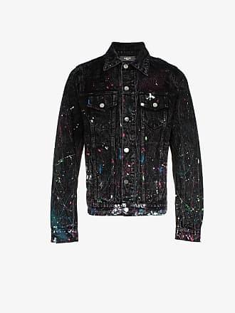 584d52a73b Amiri paint splatter print denim jacket