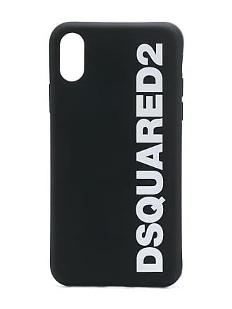 Dsquared2 logo phone case - Preto