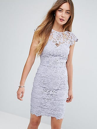 f58d8307ad8 Paper Dolls Tall Mini Lace Dress with Scalloped Back