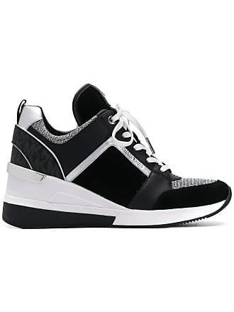 322d7d458bd7 Michael Michael Kors Georgie Mixed-Media sneakers - Black