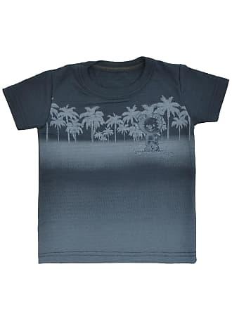 Tigor T. Tigre Camiseta Tigor T. Tigre Manga Curta Bebê Menino Azul