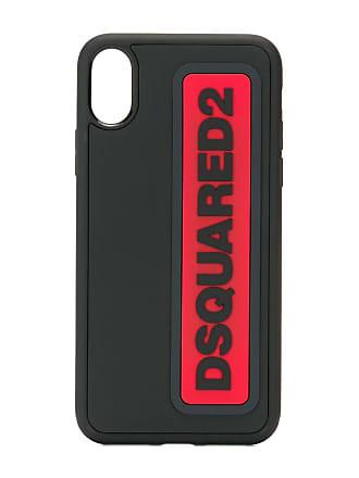 Dsquared2 logo iPhone X case - Preto