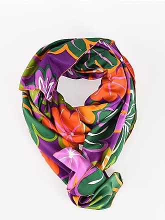 Aspesi 200x240cm Silk Floreal Foulard size Unica