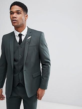 Asos Veste de costume slim - Vert forêt - Vert 7a7a1263165
