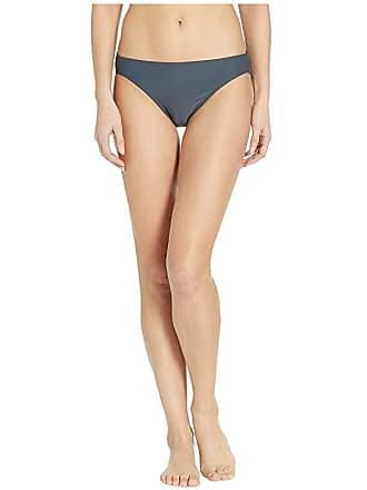 69369cad80813 Michael Kors Iconic Solids Classic Bikini Bottoms (Gunmetal) Womens Swimwear
