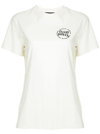 Ellery Camiseta com estampa de logo - Branco