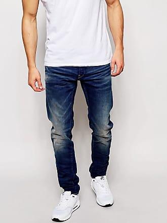 G-Star 3301 Firro - Jeans med smal passform i vintagetvätt - Blå 2f13340268759