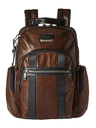 034decd86 Tumi Alpha Bravo Nellis Backpack (Dark Brown Leather) Backpack Bags