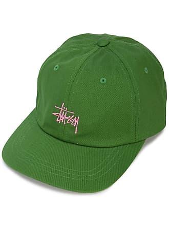 8591e15d5be Stüssy embroidered logo baseball cap - Green