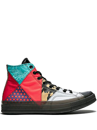 Converse Chuck 70s Patchwork HI sneakers - Red