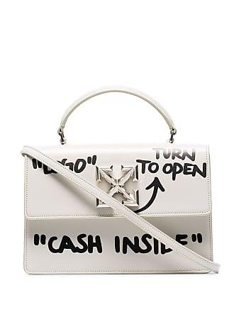 Off-white Bolsa Itney 1.4 Cash Inside - Branco