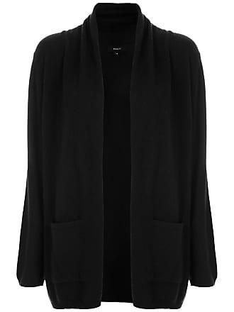 Fillity Cardigan de tricô com bolsos - Preto