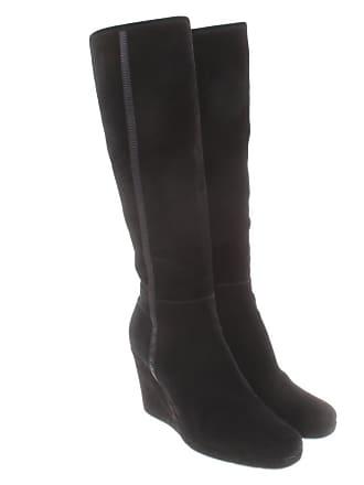 9576a5b4eeb0b Prada gebraucht - Schwarze Stiefel aus Wildleder - EU 39 - Damen - Wildleder