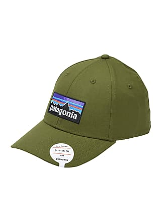 Patagonia P-6 Logo Stretch Fit Hat - ACCESSORIES - Hats ec96aff14ffa