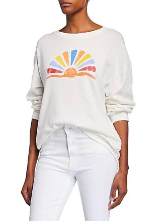 Xirena James Graphic-Print Long-Sleeve Sweatshirt