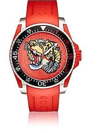 6c4abea7348 Gucci Mens Gucci Dive Watch - Red