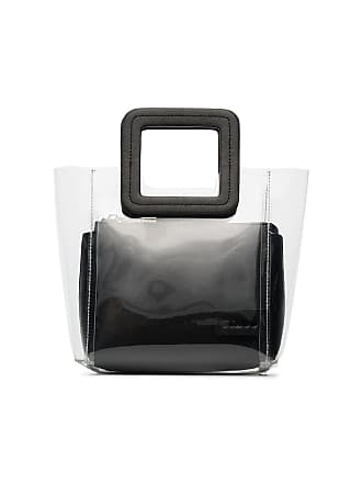 Staud Bolsa tote Shirley mini - Preto