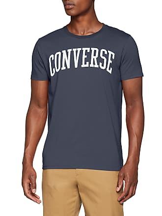64df63383a56 Converse Mens T-Shirt SS Crew CT VINTBLU Regular Fit T - Shirt