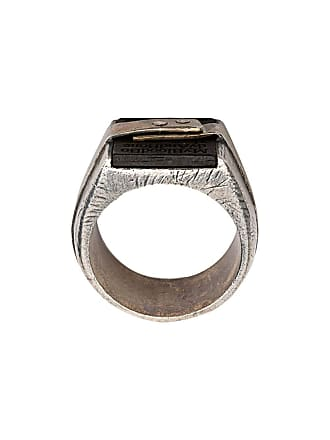 Tobias Wistisen stacked ring - Prateado