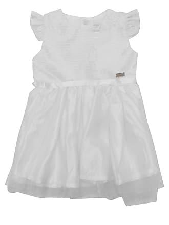 Nick Vestido Nick Bebê Menina Branco