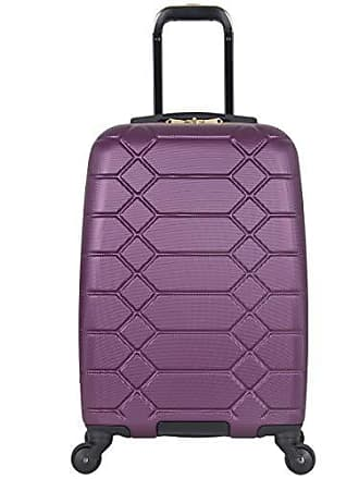 8c2039d8c Aimee Kestenberg Diamond Anaconda Womens 20 Lightweight Hardside 4-Wheel  Spinner Carry-On Suitcase
