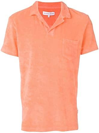 Orlebar Brown Camisa polo mangas curtas - Laranja
