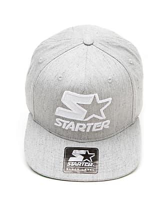 28a9907188ddb Starter Boné Starter Snapback 14444 Logo Cinza