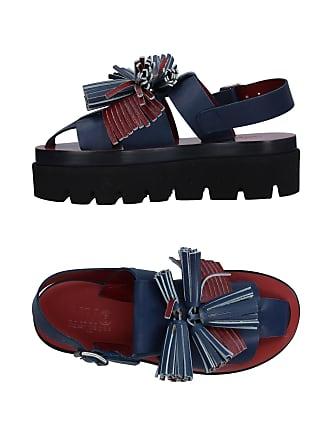 Sandales Plateforme en Bleu Foncé   10 Produits jusqu à −44%   Stylight d72282cd02d1