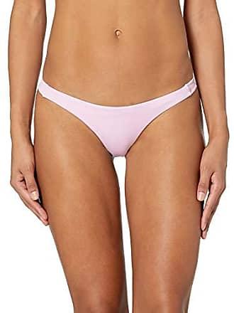 Rvca Juniors Solid Skimpy Bikini Bottom, Orchid, M