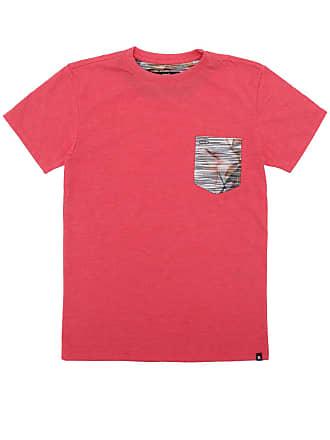 Hurley Camiseta Hurley Especial Tropic Vermelha 75bf6e18399