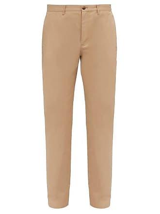 A.P.C. A.p.c. - Classique Straight Leg Cotton Twill Chinos - Mens - Beige