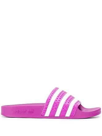 adidas Adidas Originals Adilette stripe slides - Pink
