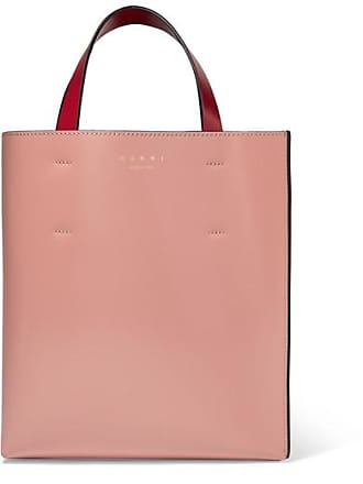 af8c08e33 Marni Museo Small Color-block Leather Tote - Pink