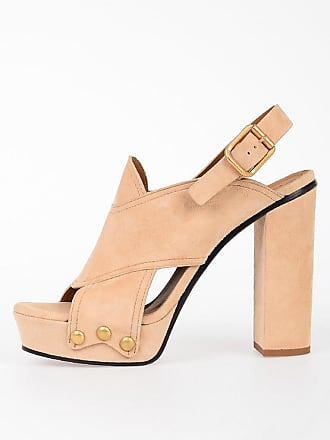 Chloé 13cm Leather Sandals size 38,5