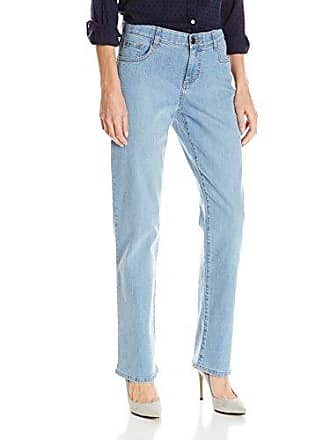 Lee Lee Womens Comfort Fit Iris Straight Leg Jean, Laguna, 6