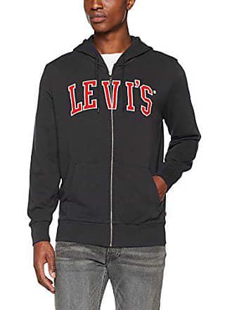 6c0546f377 Levi's Graphic Up Hoodie G Sweat-Shirt À Capuche, Noir (Levis Zip Fleece