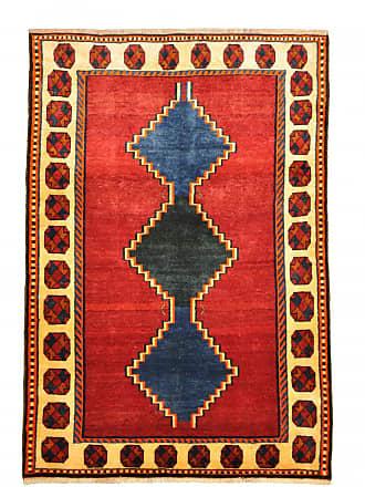 Nain Trading 200x136 Tappeto Persiano Persia Gabbeh Vecchio Grigio Scuro/Blu Scuro (Annodato a mano, Persia/Iran, Lana)