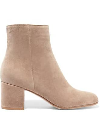 4776db468639 Gianvito Rossi Margaux 65 Suede Ankle Boots - Beige