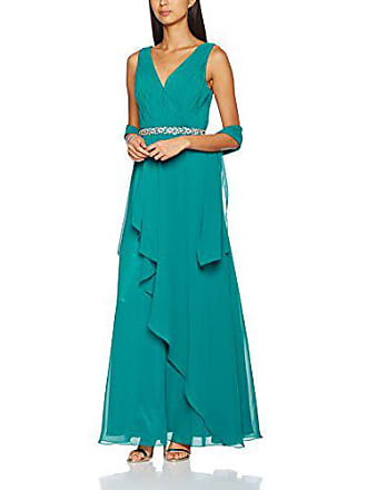 58a88d35caa Mascara Damen Party-   Abendkleider Cross Front Pleat Maxi