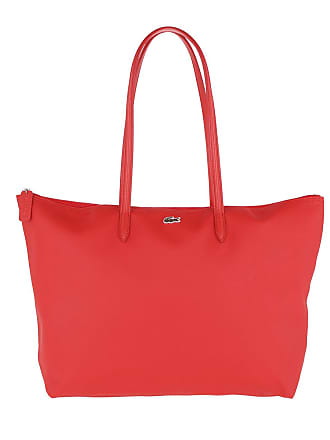 f27c1c6a70124 Lacoste L Shopping Bag High Risk Red Shopper rot