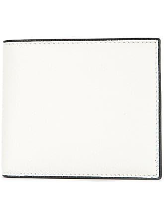 Valextra Simple Grip billfold wallet - White
