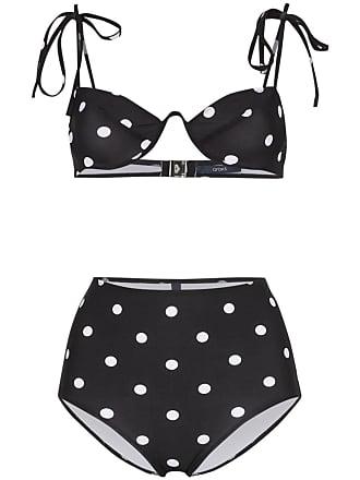 740d70511c3 Araks Myriam Mallory polka dot underwired high-waisted bikini set - Black