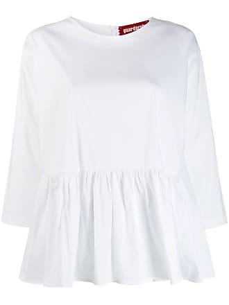 Guardaroba Blusa babydoll ampla - Branco